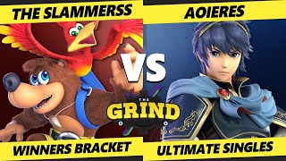 The Grind 131 Online Winners Round 1 - The Slammerss (Banjo) Vs. Aoieres (Marth) Smash Ultimate