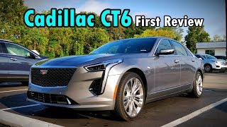 2019 Cadillac CT6 Platinum: FIRST REVIEW | Caddy's Flagship Gets UPGRADED!