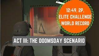 GTA Online ACT III The Doomsday Scenario World Record -12:49, Elite Challenge, 2P