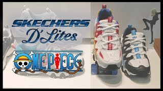 Sketchers x One Piece Shoe Collection Showcase