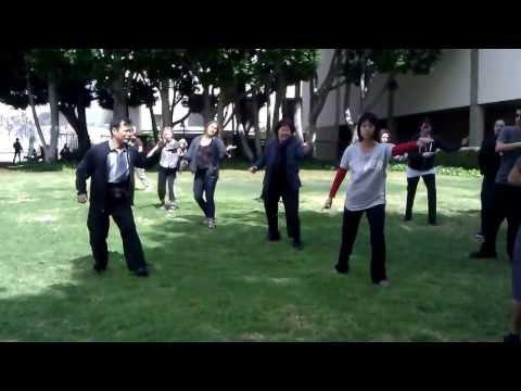 CSULA Outdoor Tai Chi Class