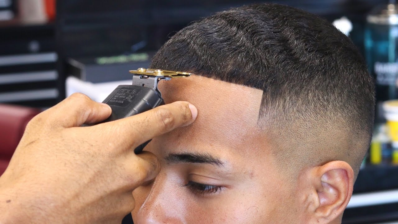 haircut tutorial: shad moss fade with waves on top - youtube