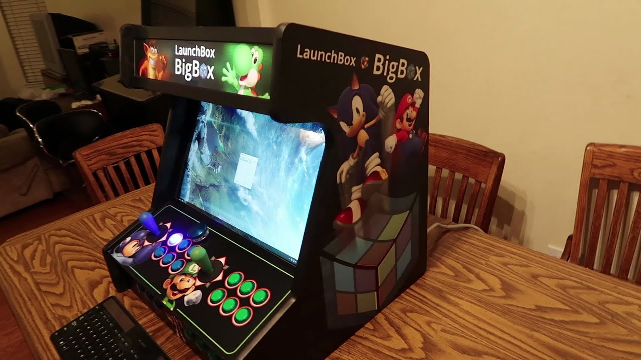 Monster Arcades LaunchBox Big Box Bartop Unboxing and First Look ...