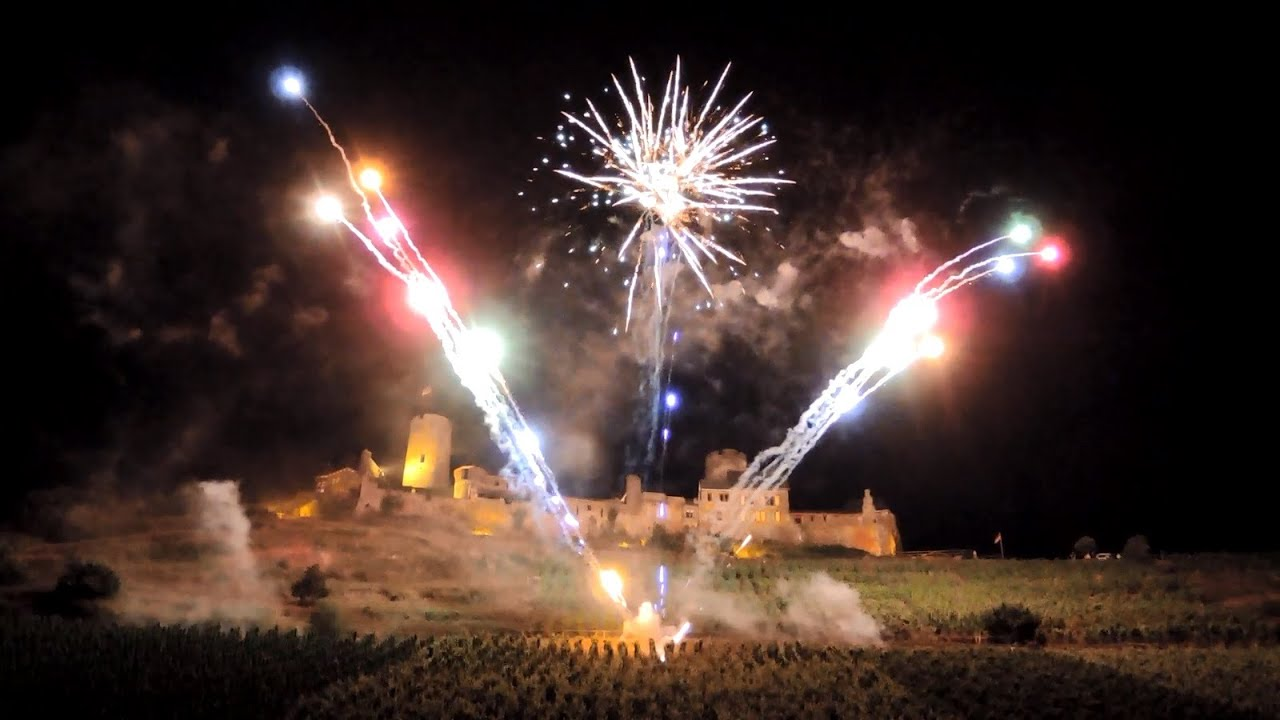 Winzerhoefefest Alken 2016 Feuerwerk Youtube