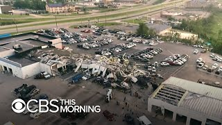 Violent tornado leaves three-mile path of destruction in Jefferson City