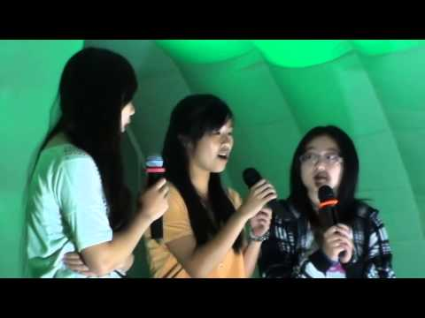Auckland Lantern Festival 2014 - My Heart Will Go On - Karaoke