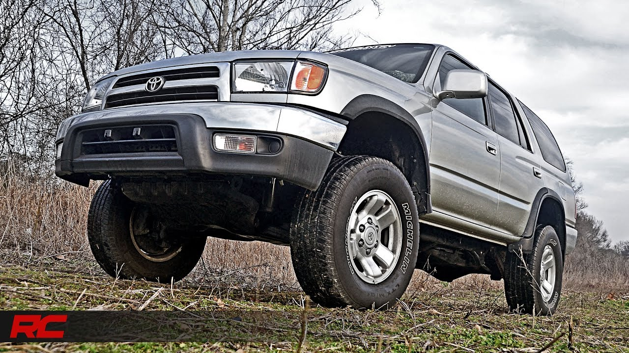Installing 1996-2002 Toyota 4Runner 3-inch Suspension Lift Kit