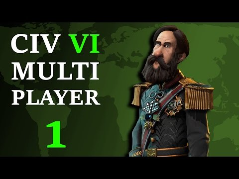 Civilization 6: Multiplayer Brazil - Episode 1 - March of the Barbarians
