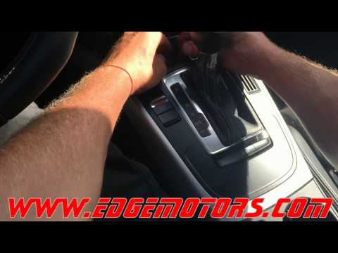 Audi A4 S4 shifter interlock release by Edge Motors