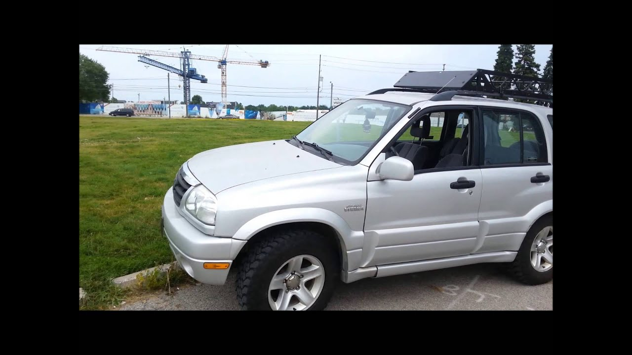 walk around of the 2001 suzuki grand vitara - YouTube