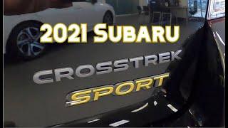 2021 Subaru Crosstrek Sport Features and Walkaround