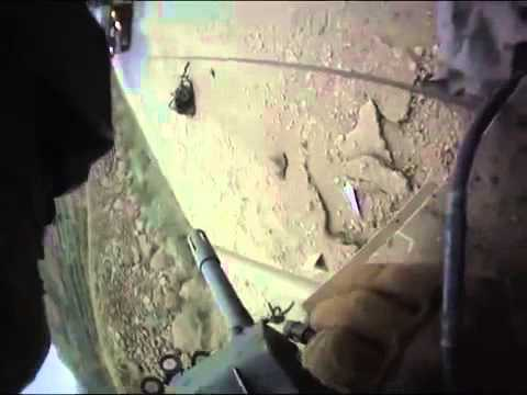 Helmet cam footage of humvee hitting IED