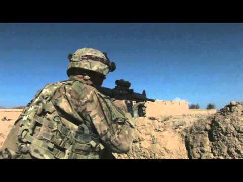 1ST ID Firefight in Ghazni Province