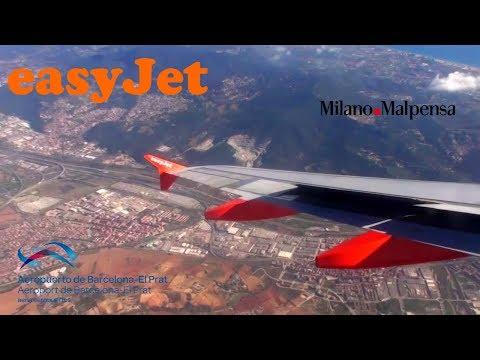 Easyjet Airbus A319 G-EZAI I Milan Malpensa - Barcelona I *Full Flight*