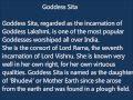 Goddess Sita Names For Indian Baby Girls