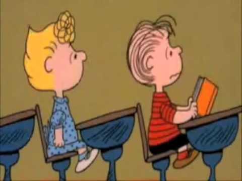 Peanuts Teacher Youtube