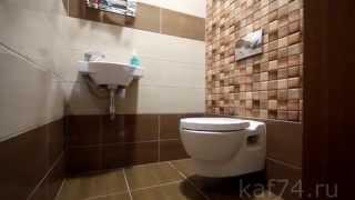 Наши работы 4. Ремонт туалета. kaf74.ru(Сайт - kaf74.ru., 2015-02-24T17:28:45.000Z)
