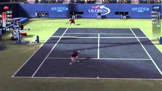 Top Spin 2 : Federer vs Roddick Us Open