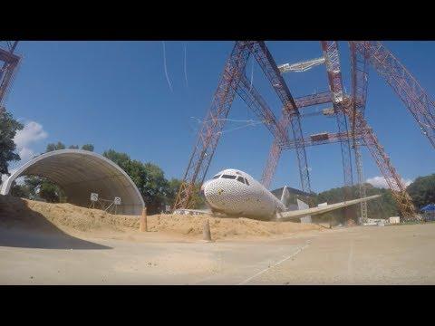 Ready, Set Crash! Watch a Fokker F-28 Aircraft Crash Test at NASA