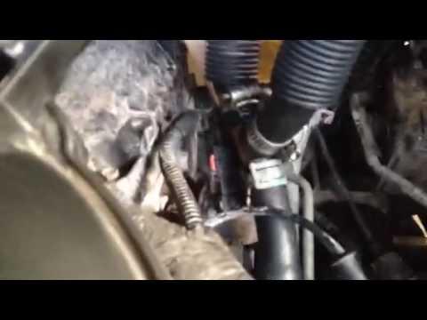 2010 Dodge Grand Caravan Y Fitting Heater Hose Repair Youtube