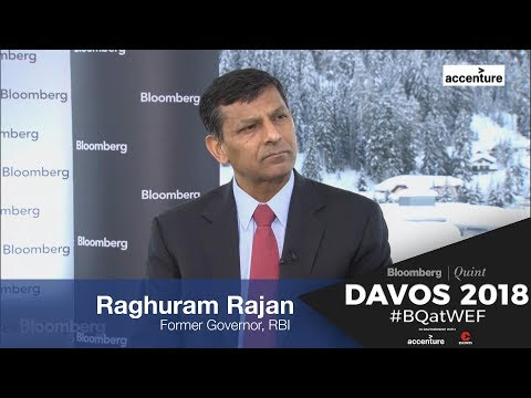WEF 2018: Raghuram Rajan On MPC, Demonetisation And Inflation