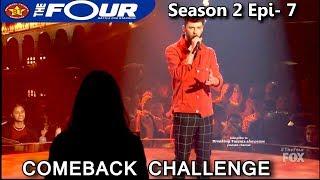 "James Graham sings ""Writing's On The Wall"" Comeback Challenge The Four Season 2 Ep. 7 S2E7"