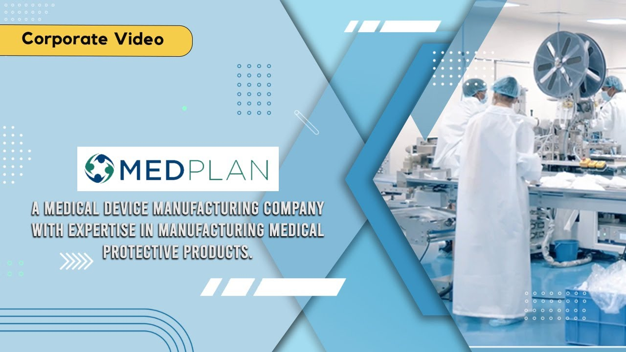 Medplan - Mask manufacturing factory shoot | Corporate Video Makers Delhi | Production House Delhi