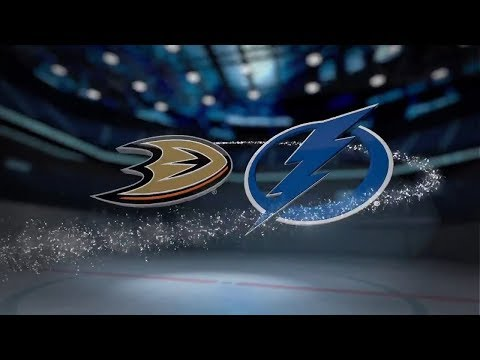 Anaheim Ducks vs Tampa Bay Lightning - October 28, 2017 | Game Highlights | NHL 2017/18 Обзор