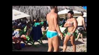 http://www.gaypv.mx  Mexico Gay Magazine cruising at the gay beach in Puerto Vallarta Mexico