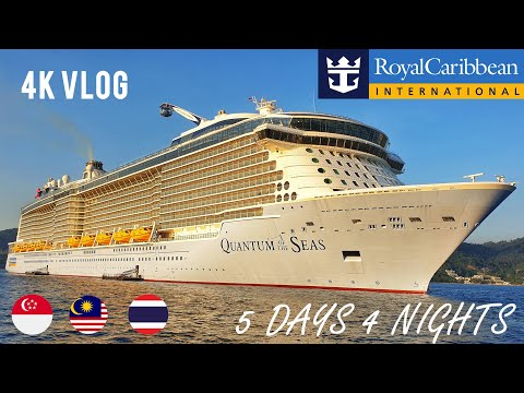 [4K] 5D4N Royal Caribbean Quantum Of The Seas Cruise VLOG - My 1st Ever Cruise Experience!