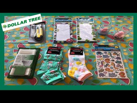 Dollar Tree Haul/ Friend Mail🍉
