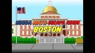 Hooda Math Escape Room Boston Walkthrough
