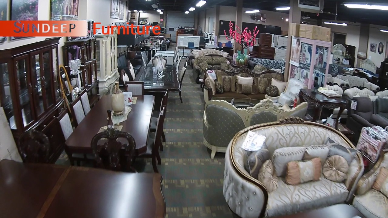 Edmonton Modern Furniture Furniture Store In Edmonton Sundeep Furniture Drone Video Tour