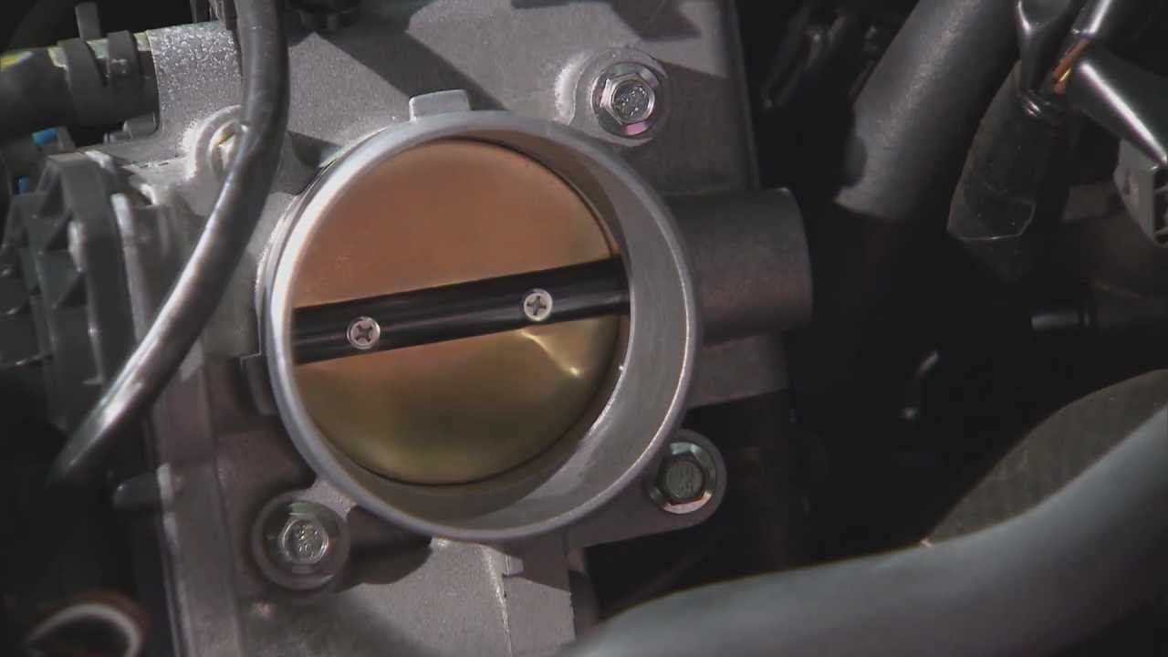 Chevrolet Sonic Repair Manual: Throttle Body Assembly Removal