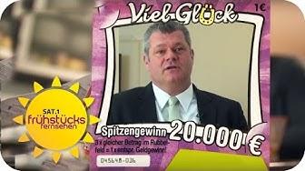 Glücksspiel: 1 EURO Einsatz - 100.000 € GEWINN? | SAT.1 Frühstücksfernsehen