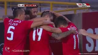 Primeiro golo de Facundo Ferreyra pelo Benfica