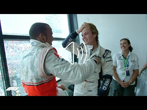 MY FIRST EVER F1 PODIUM | NICO ROSBERG