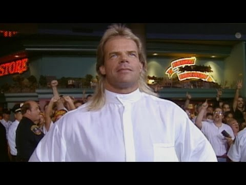 Lex Luger delivers the first shot in the Monday Night War, only on WWE Network