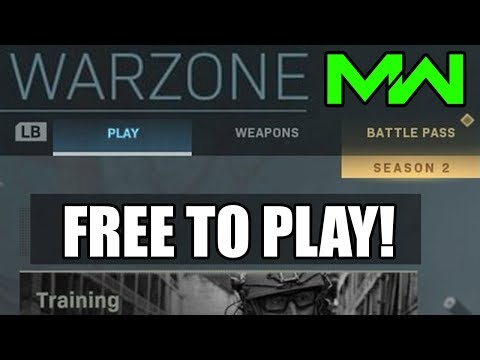 DOWNLOAD Modern Warfare: Warzone Battle Royale For FREE At Launch! (Coming Soon)