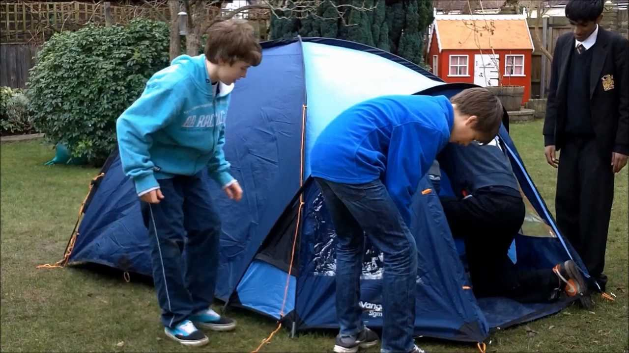 How to Pitch a 3 Man Tent in 5 Minutes & How to Pitch a 3 Man Tent in 5 Minutes - YouTube