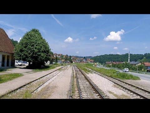 Bosnian Steam - Driver's Eye View – Tuzla to Bijela at 3 X Full Speed