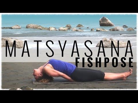Yoga Pose: Fish Pose (Matsyasana)