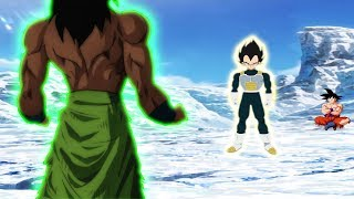 VEGETA Fights Broly FIRST And LOSES Dragon Ball Super Movie 2018 Exclusive