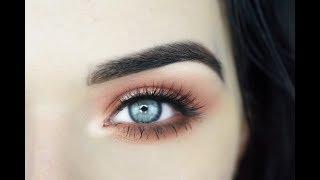 Peach Halo Eye Makeup Tutorial | Dose of Colors Sassy Siennas