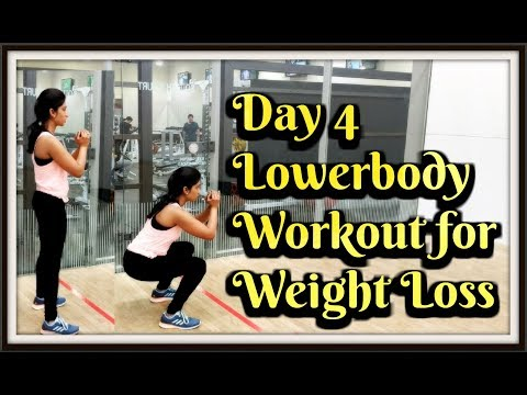 Lower Body Workout Video | Weight Loss Workout | Day 4 | Fitness Tips | BeFit With Karishma