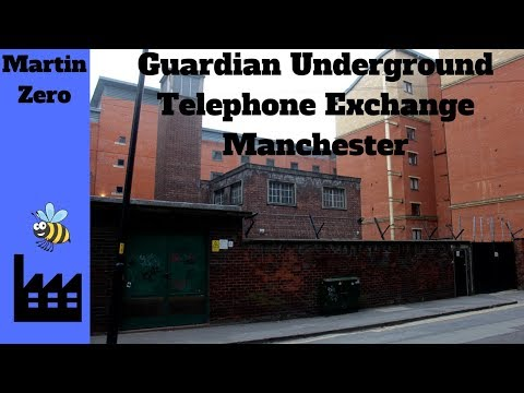 Underground Telephone Exchange 'Guardian' Manchester(True Story)