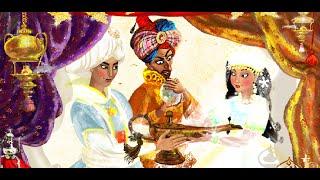 Волшебная лампа Алладина - Библиотека ''Лучшие сказки и легенды на ночь для детей''