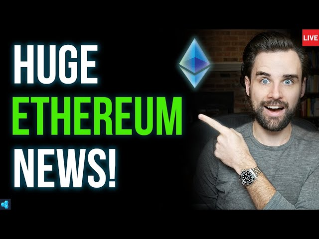 🔴LIVE: This is GREAT news for Ethereum!