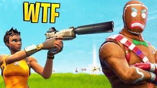 BEST WEAPON (Legendary Silenced Pistol) | Fortnite Best Stream Moments #31 (Battle Royale)