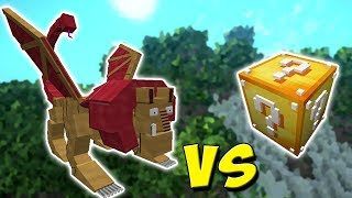 MANTICORE VS. LUCKY BLOCK (MINECRAFT LUCKY BLOCK CHALLENGE)